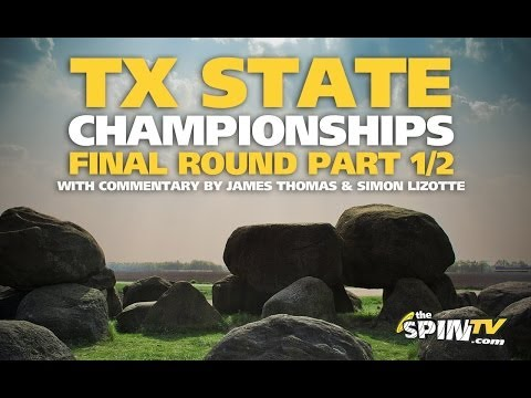 2014 Texas State Disc Golf Championships Final Round Part 1/2