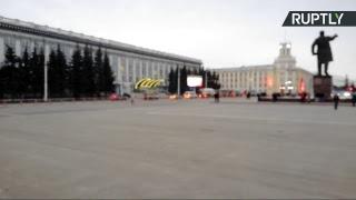 Стихийный митинг в связи с трагедией в ТЦ «Зимняя вишня» в Кемерове