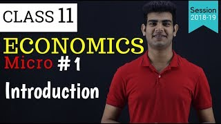 Introduction Class 11 economics | Chapter 1 in Hindi Micro | Central Problem of Economics