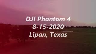 DJI Phantom 8 15 2020 Lipan Texas