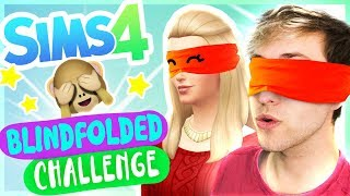 Sims 4 BLINDFOLDED Create a Sim CHALLENGE