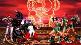KOF Mugen Orochi Iori Team VS Orochi Leona Team