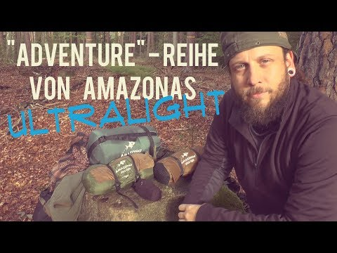 "Ultralight Hängematten Setup ""Adventure"" v. Amazonas & Underquilt"
