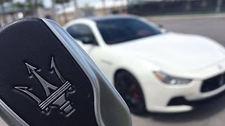 The Weirdest Features of the Maserati Ghibli S Key Fob