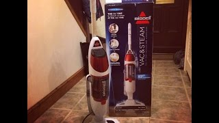 A Review of the Bissell Vac and Steam Cleaner