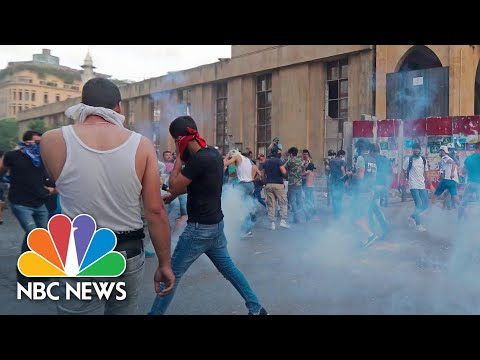 Lebanese Prime Minister Resigns Amid Explosion Protests And Unrest | NBC News NOW