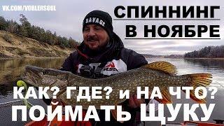 Как рыбалка в ноябре на спиннинг