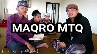 Ayo Belajar Maqro MTQ Bersama Qori' Internasional ( H.Mu'min 'Ainul Mubarok, S.Pd.I )