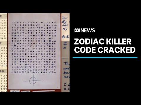 Zodiac killer code cracked by Australian mathematician 50 years after first murder