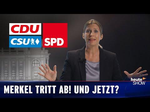 Kdo přijde po Merkelové? - heute show
