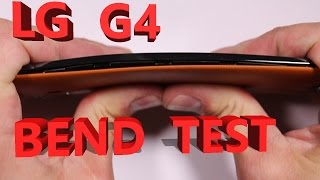 LG G4 Scratch Test, Burn Test, Bend Test, Durability video