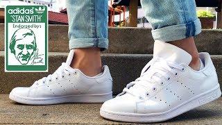 Adidas Stan Smith All White Review | On Feet