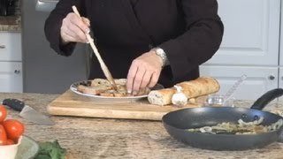 Caramelized Onion Crostini : Italian Appetizers