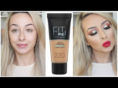 Fit Me Matte + Poreless Foundation by Maybelline #3