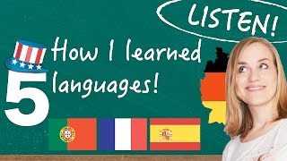 How I Learned to Speak 5 Languages Fluently - C1 - WITH ENGLISH SUBTITLES