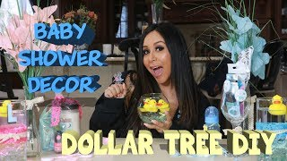 SNOOKIS DOLLAR TREE DIY BABY SHOWER DECOR