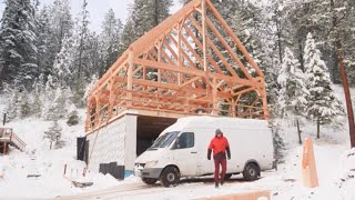 Download Youtube: the TRUTH about filming for Pure Living For Life timberframe build