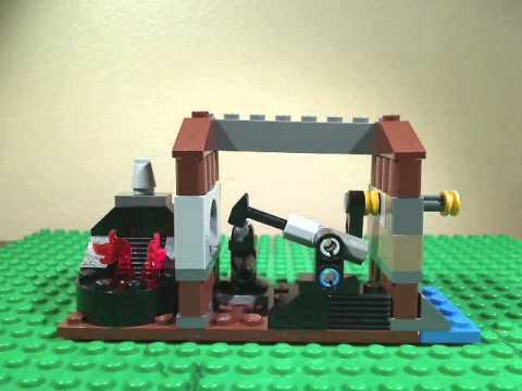 Vidéo LEGO Kingdoms 6918 : L'attaque du forgeron