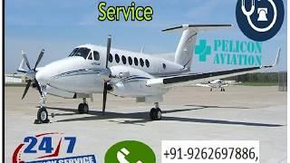 World Class ICU Setup Air Ambulance Service from Patna to Vellore By Piloco