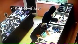 Ограбление ювелирного магазина в городе Артёме Приморского края