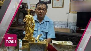 Hàng trăm triệu cho tượng Phật nhồi ...xi măng