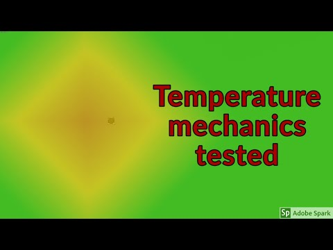 Temperature, how it works : Tutorial Nuggets : Oxygen Not Included