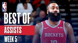 NBA's Best Assists | Week 5 | State Farm