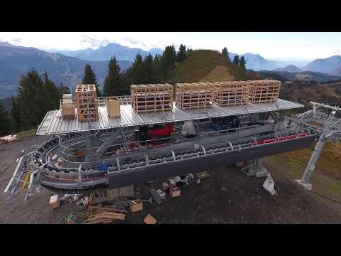Suivi du chantier du TSD6 du Ranfoilly au 8 octobre 2017