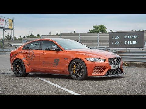 Посмотрите проект Jaguar 8 побить свой собственный рекорд Нюрбургринг
