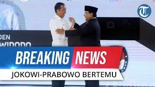 BREAKING NEWS: Momen Detik-detik Jokowi dan Prabowo Bertemu di Stasiun MRT