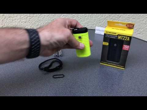 Nitecore MT22A Mignon Batterie Taschenlampe
