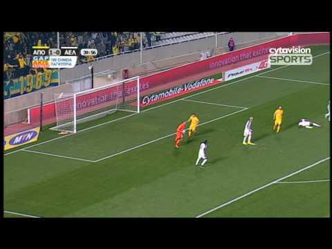 Βίντεο αγώνα: ΑΠΟΕΛ 3-0 ΑΕΛ, φάσεις και γκολ