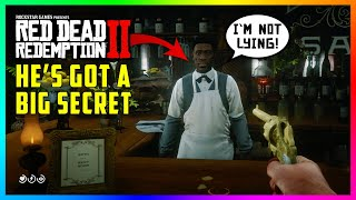 The Saint Denis Bartender Has A DARK & CREEPY Secret You Don't Know About In Red Dead Redemption 2!