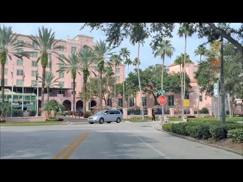 Driving Downtown - St Petersburg Florida