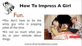How To Impress A Girl in 5 Easy Steps