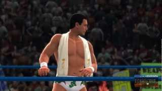 WWE '13 SDH Creations: Alberto Del Rio Updated Entrance - Face