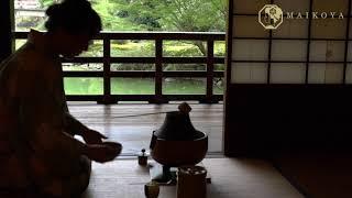 Tea Ceremony Kyoto Maikoya Japan
