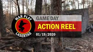 War Play Lasertag – Action Reel – 01/19/2020