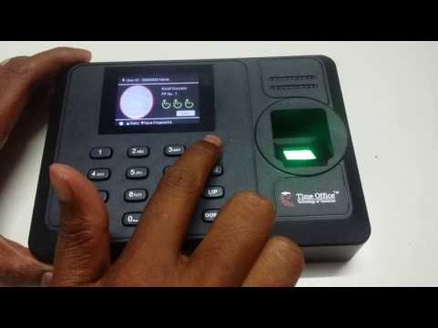 Fingerprint Time Attendance System In Ahmedabad Gujarat