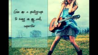 Superstar - Taylor Swift [Lyrics on Screen] HQ