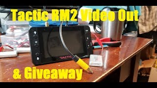 Tactic RM2 5.8ghz FPV Monitor Video Out & Giveaway