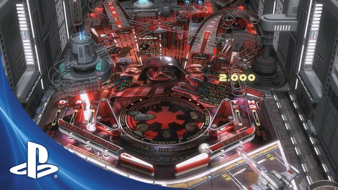 Star Wars Pinball: Darth Vader Table Shows us the Dark Side of the Force