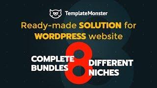 Ready-madesolutionforWordPresswebsite:8CompleteBundlesfor8DifferentNiches