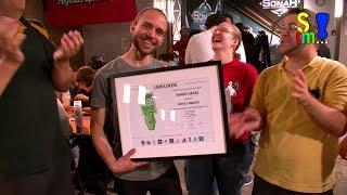 Bericht: Magic Maze Beeple-Award Übergabe