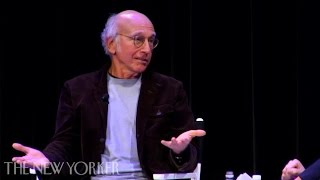 "Larry David on Writing ""Curb Your Enthusiasm"" & Why He Doesn't Understand Squirmish People"