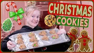 Baking Christmas Cookies! (i tried)