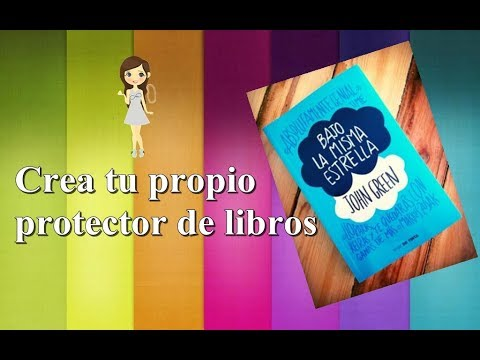 Crea tu protector de libros/Fácil y económico