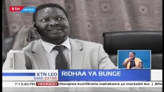 Ridhaa ya Bunge:  Uhusiano wa kijamii katika bunge la Kenya