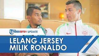 Reaksi Cristiano Ronaldo saat Tahu Martunis Lelang Jersey Pemberiannya dengan Harga Rp23 Juta