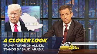 Trump Turns on Allies, Stands by Saudi Arabia: A Closer Look